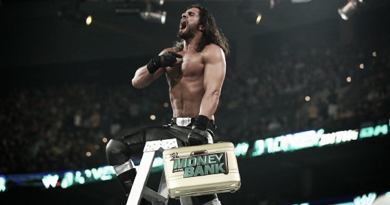 Rollins' feud with Dean Ambrose Carried the 2014 ladder match. Photo: thesportsterimages.com