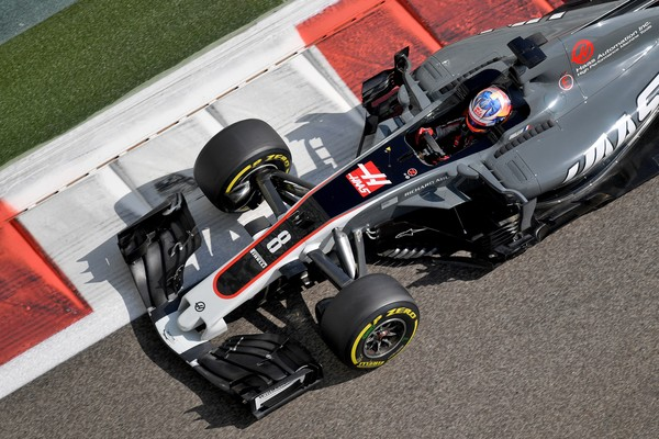 Romain Grosjean con el Haas. Fuente: Getty Images