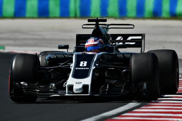Romain Grosjean en el pasado Gran Premio de Hungría | Getty Images