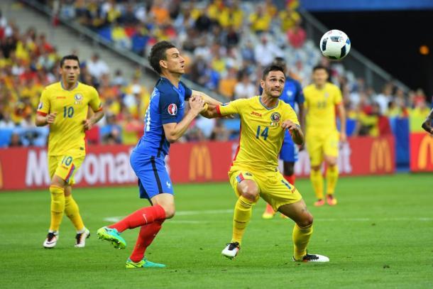 Un momento di Francia-Romania, huff.ro