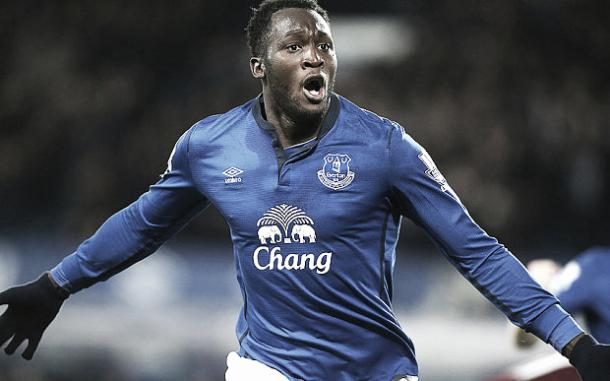 Romelu Lukaku has scored 61 goals in 118 games for Everton. | Photo: Getty Images