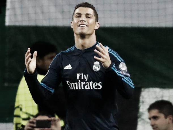 Above: Real Madrid's Cristiano Ronaldo has been reportedly linked with a move back to old club Manchester United