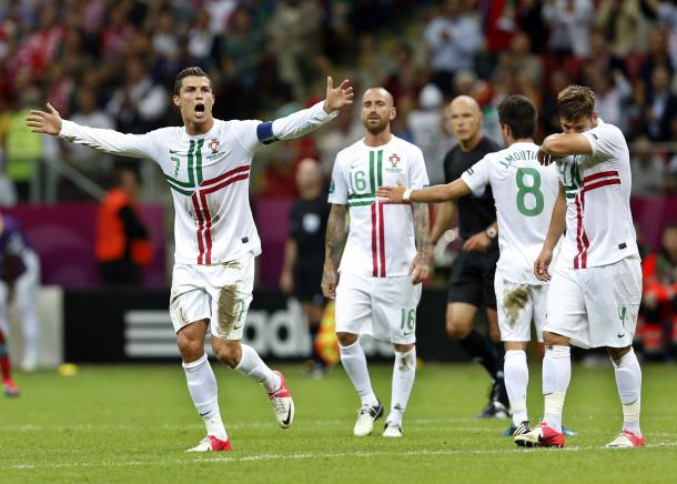 Ronaldo at Euro 2012. (Source: MetroNews)