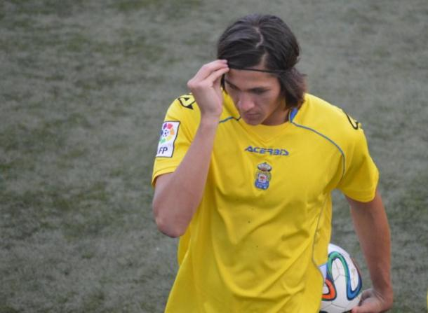 Ronaldo Peña espera aportar toda su experiencia internacional con la Sub-20 / www.udlaspalmas.net
