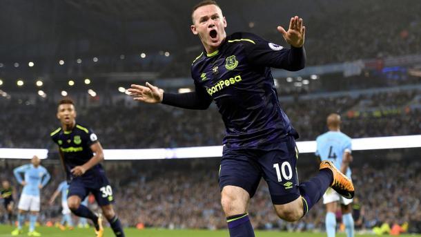 Rooney anotó su gol 200 en la pasada jornada.