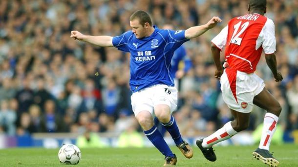 No será el primer Everton-Arsenal de Rooney. Foto: Everton