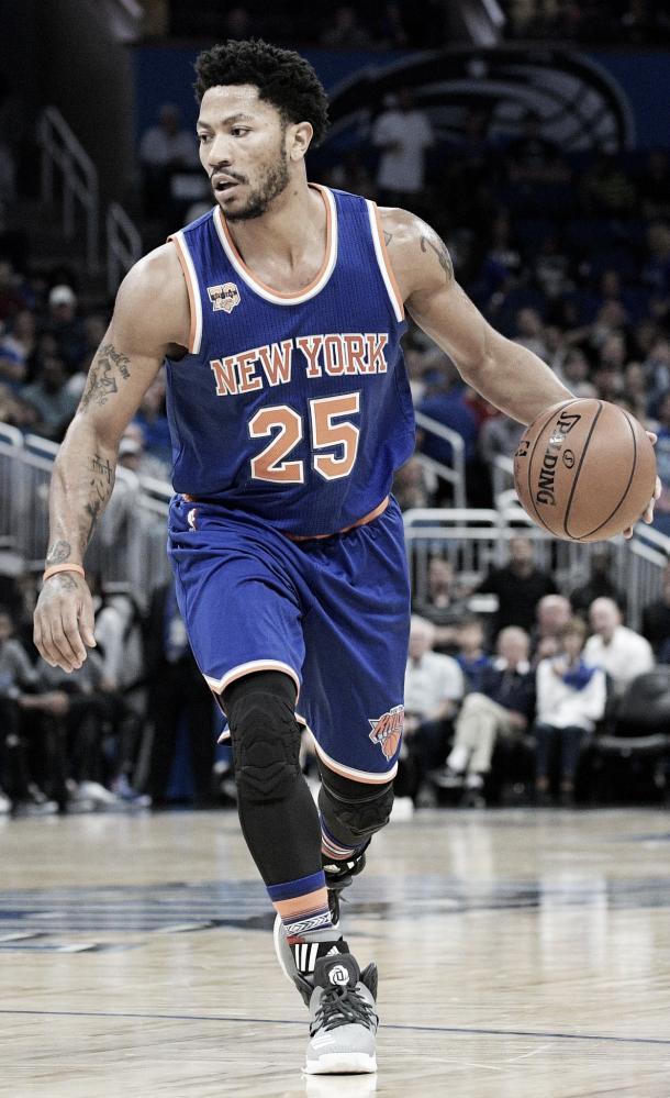 Derrick Rose has found himself riddled with injuries following his MVP season. Photo: Phalen M. Ebenhack/Associated Press.