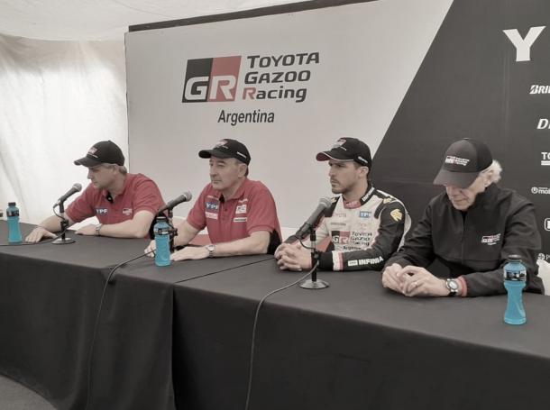 Conferencia de prensa de Toyota Gazzo Racing / Foto: Carburando