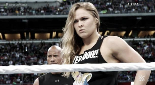 Could we see Rousey wrestling in the near future? Photo: Uproxx