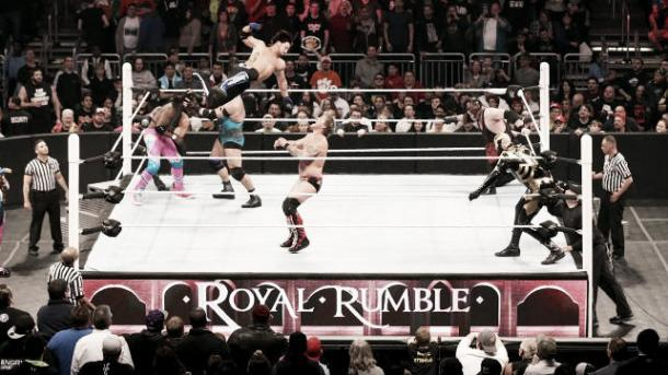 The Royal Rumble has long been a place for surprises to materialise (image: gamespot)