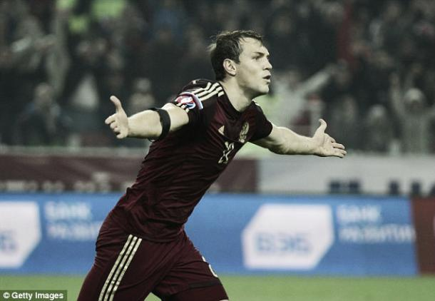 Dzyuba will be a handful. Photo- Getty Images