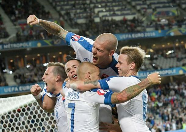 Will Slovakia be celebrating as they did against Russia? (Photo : Getty Images )