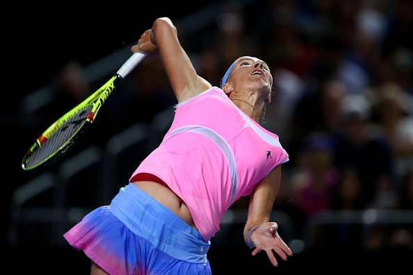 Kuznetsova will need to serve well today (Getty Images/Ryan Pierse)