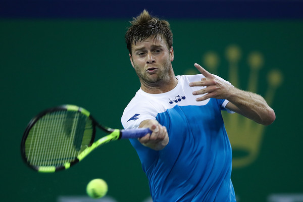 Ryan Harrison in action at the Shanghai Rolex Masters | Photo: Lintao Zhang/Getty Images AsiaPac