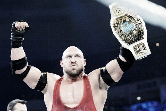 Ryback has been on a steady decline since losing the belt. Photo- Bleacher Report