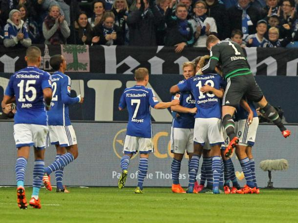 Schalke will be hoping for scenes like this on Friday evening. (Image credit: kicker)