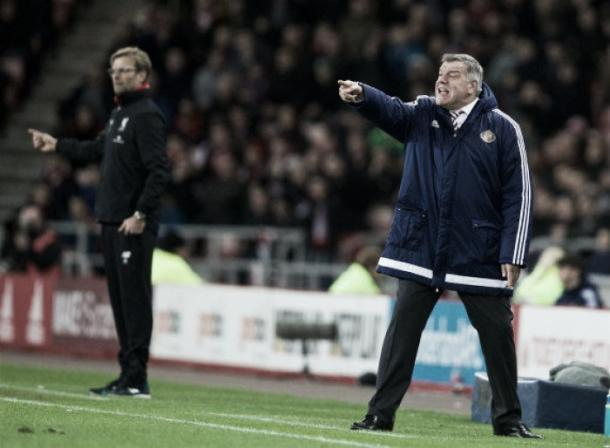 Allardyce marshals his troops. | Image source: The Telegraph.