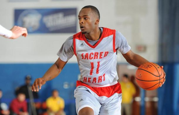 McKnight's brilliance makes Sacred Heart a threat even as the eighth seed in the NEC Tournament/Photo: Sacred Heart athletics website
