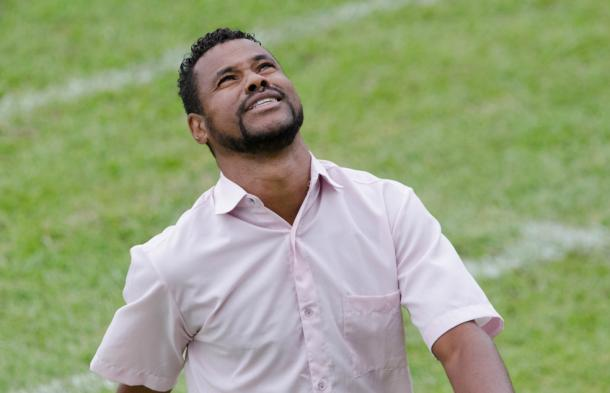 Britto foi detido logo após o término da partida diante do Mogi Mirim (Foto: Sanderson Barbarini/Foco no Esporte)