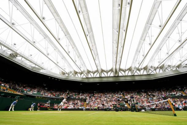 Sam Querrey and Marin Cilic will be in action on Centre Court (Getty/Shaun Botterill)