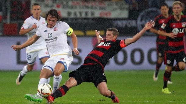 Battling Bender will be united with Baumgartlinger next season. | Image source: Bundesliga