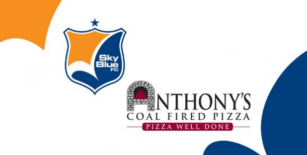 Sky Blue FC has announced a new corporate sponsorship with Anthony's Coal Fire Pizza | Source skybluefc.com