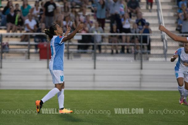 Marta has scored 11 goals this NWSL season, and she has created 46 chances for the Orlando offense | Photo: Jenny Chuang - VAVEL USA