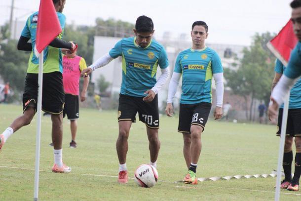 'Manny' Segura jugando para Tampico Madero en la Segunda División (Foto: Dorados)