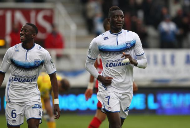 Guirassy while in action for Auxerre. | Image source: But