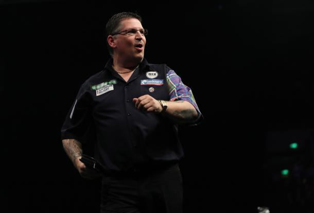 Gary Anderson responded to his defeat last week. (picture: PDC)