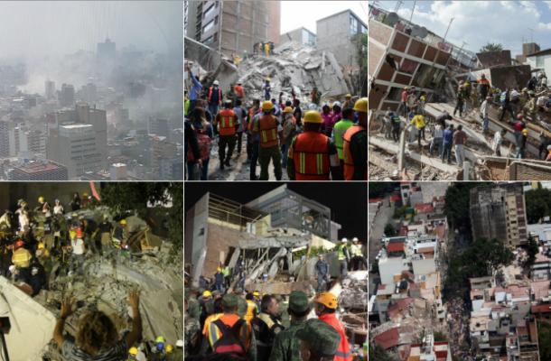 Sismos en México 2017 | Fotos: Agencias