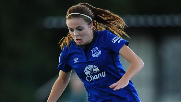 Can Magill fire Everton to the top of the table? | Image source: Everton Ladies