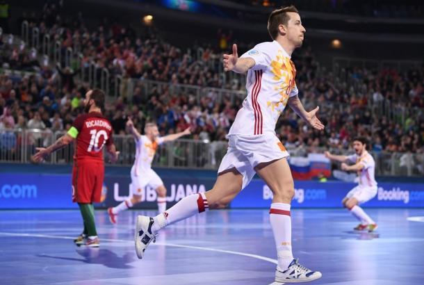 Lin colocaba a España por delante | Foto: UEFA