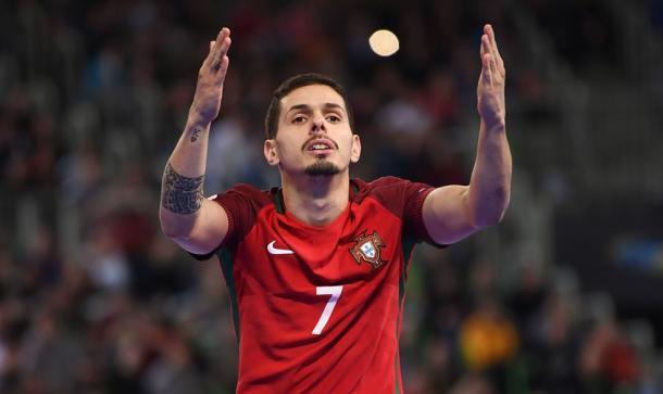 Bruno Coelho celebrando el tanto de la victoria | Foto: UEFA