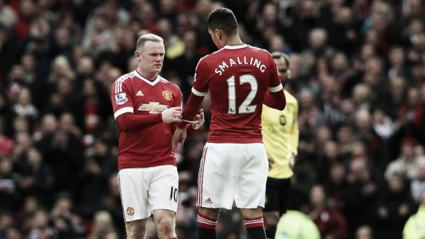 Chris Smalling that he likes the pressure that comes with playing for Manchester United | Photo: Sky Sports