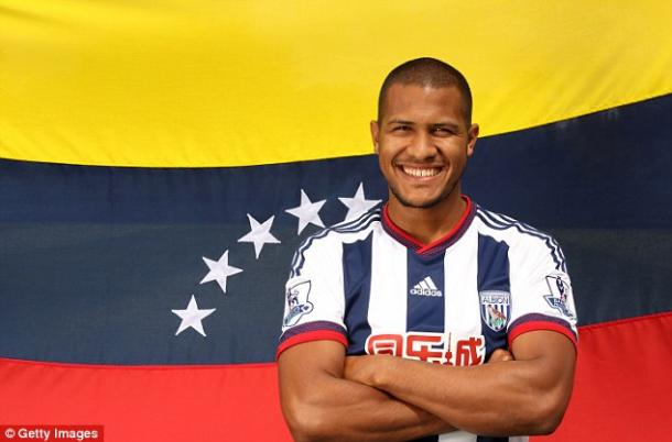 Rondon is starting to show why West Brom paid so much money for him in the summer.