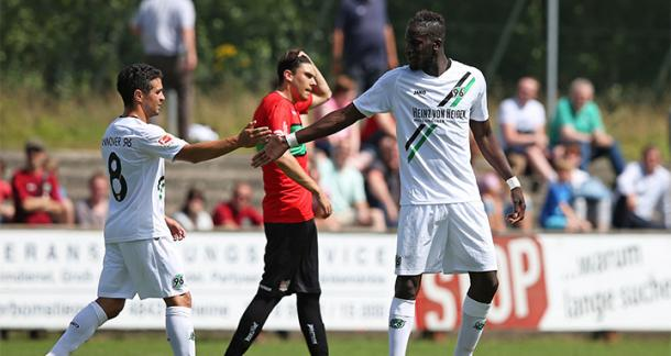 Keeping Sané could prove crucial. | Image credit: Hannover 96