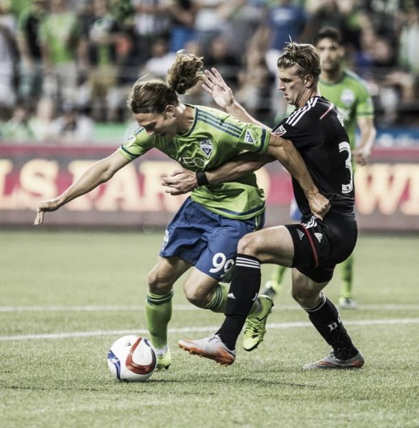 After a stellar S2 season, Craven was signed to the first team | Source: Dean Rutz/The Seattle Times