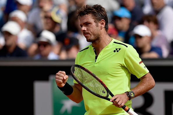 Wawrinka beat Rosol for the fourth time in as many matches (Photo: Getty Images/Dennis Grombkowski)