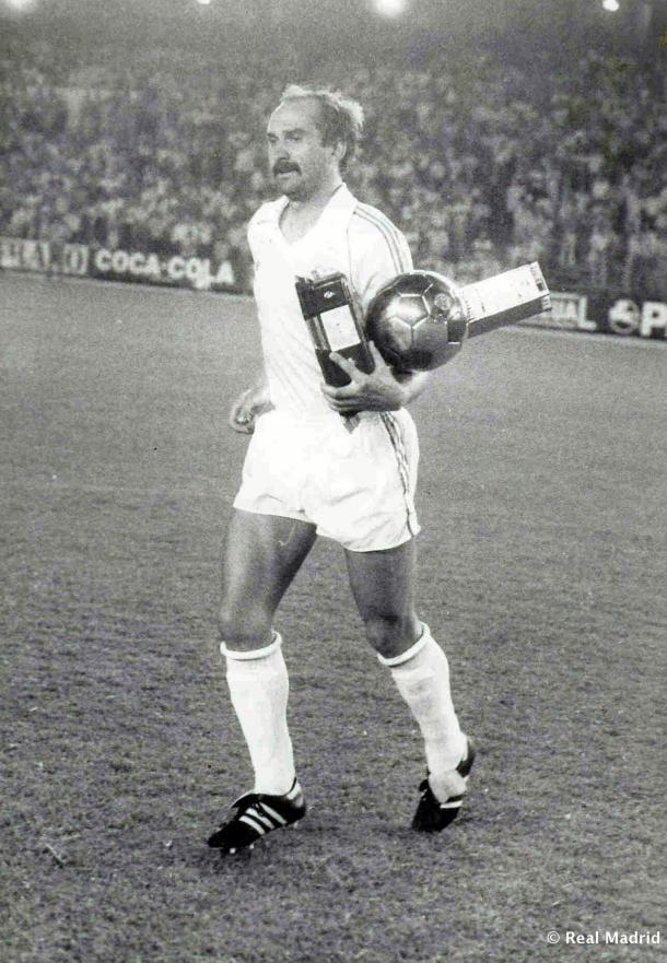 Uli Stielike con el Real Madrid   Fuente: Real Madrid