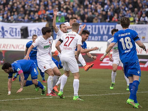 Wagner's header had put Darmstadt comfortably ahead. | Image source: kicker - Getty Images