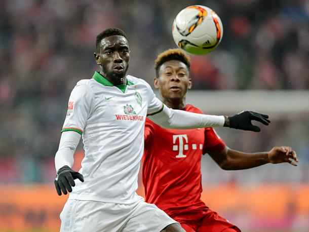 Yatabaré has offered Werder a more direct and powerful option on the wings. | Image source: kicker - picture alliance