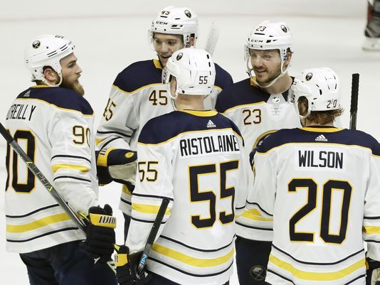 The Buffalo Sabres enjoyed the sweet taste of victory in a rare win vs Nashville. (Photo: USAtoday)