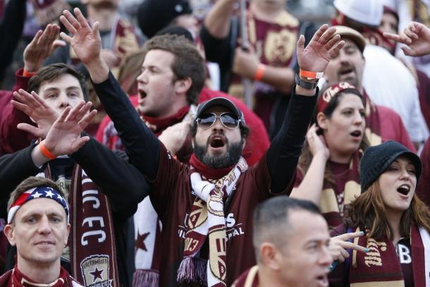 The Sacramento Republic have gained a nearly cult-like following in northern California. (Photo credit: USA Today)