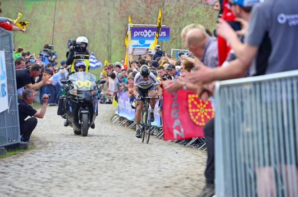 Sagan won Flanders last weekend, which makes him favourite this Sunday / Road Cycling
