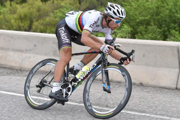 Sagan will be a threat at Flanders tomorrow / VeloNews