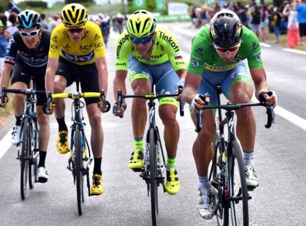 Sagan will want to add more points to keep hold of the Green Jersey / Cycling Weekly