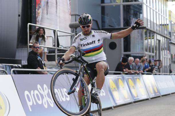 Sagan won Flanders, which has meant Cancellara has left the Classic empty-handed / Cycling Weekly