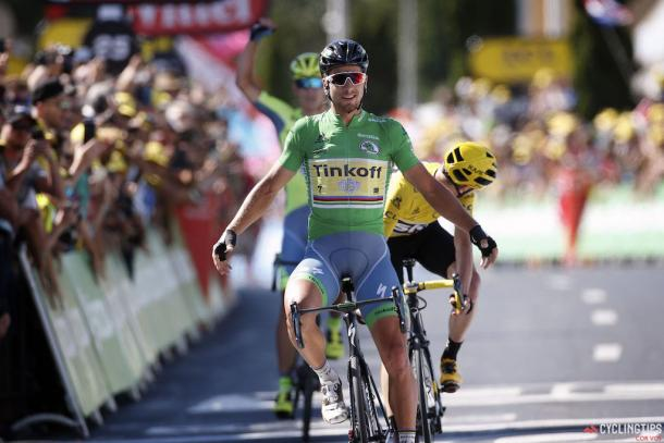 Sagan extending his Green Jersey with a win in Montpellier / Cycling tips