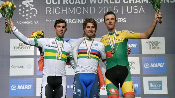 Peter Sagan buscará reeditar el oro de Richmond | Foto: Richmond 2015 oficial